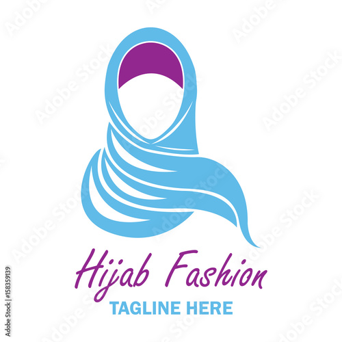 quothijab logo with text space for your slogan tag line