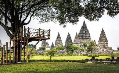 Prambanan Temple Garden
