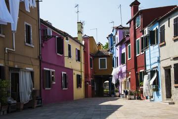 Paesaggio Italiano, abitazioni nell'isola di Burano