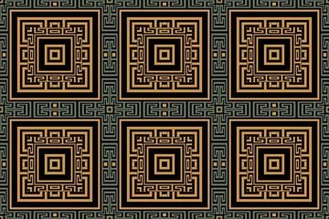 Art deco geometric vintage frame background symmetrical geometric shapes