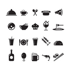 icon food and drink, vector
