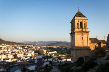 Idyllic Andalusian mountain village Alcaudete in Spain