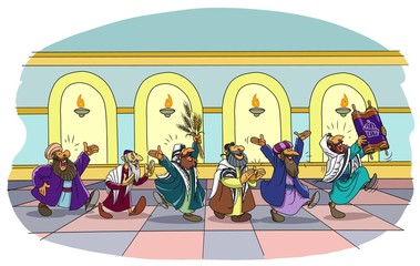 A Holiday at the Synagogue