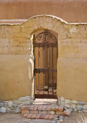 Southwestern Gate in Santa Fe
