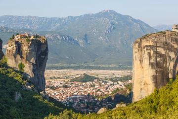 Monastery Holy Trinity in Meteora, Kalambaka Greece.