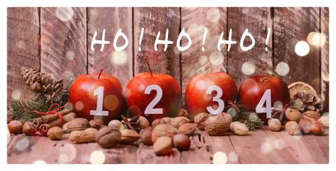 Ho Ho Ho Weihnachtsäpfel