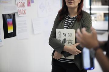 Startup Business People on Presentation Workshop