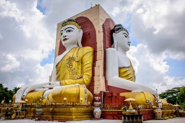 Kyaik Pon Four Face Pagoda, Bago, Myanmar, June-2017