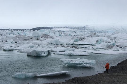 アイスランドの流氷