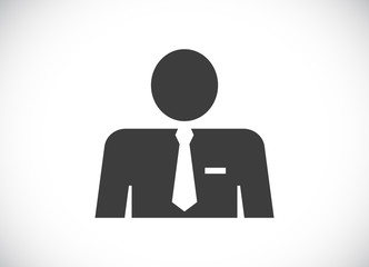 user businessman icon