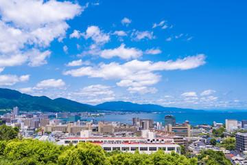 大津サービスエリアからの風景