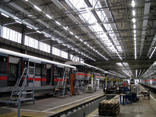 Acrylic Prints Industrial building Depot