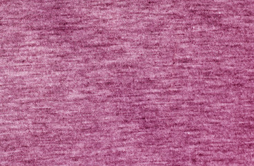 Pink color knitted cloth pattern.
