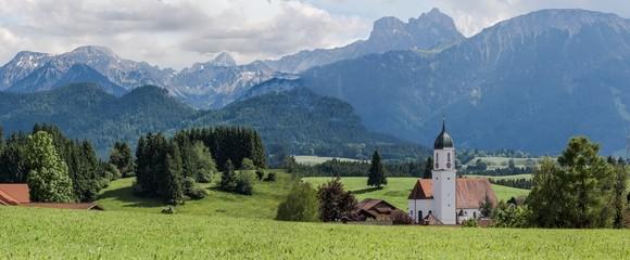 Zell im Allgäu,  Panorama
