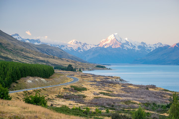 Mount Cook, the highest New Zealand mountain
