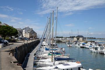Hafen von Le Croisic, Frankreich
