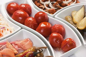 salad of pickled vegetables