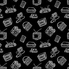 retro devices pattern