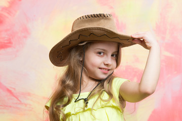 beauty and fashion, childhood and happiness, west and discovery, cowboy