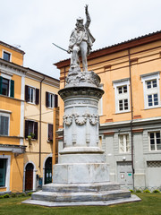 Square Garibaldi devoted to the hero of the two worlds