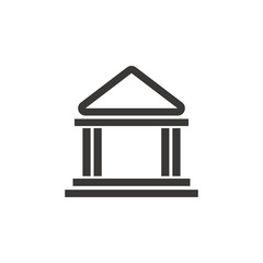 building bank safe money financial symbol vector illustration