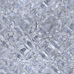 crystal texture generated. Seamless pattern.