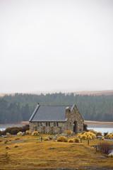 Shepherd church at Lake Tekapo