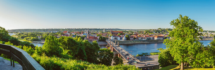 Old town of Kaunas, Lithuania