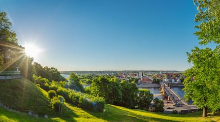 Old town of Kaunas, Lithuania