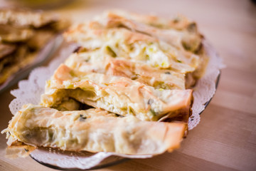 comida tradicional búlgara para bautizo en  Malasaña Madrid