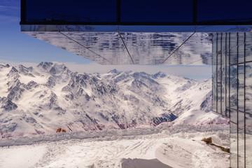 Winterlandschaft am Gaislachkogl, Sölden, Tirol