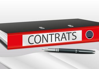contrats - mot - entreprise - classeur - présentation - accord - business