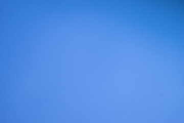 Blue sky and only blue background. Bright blue sky with no cloud.