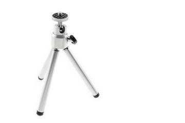 Mini tripod / Mini tripod for camera on white background.