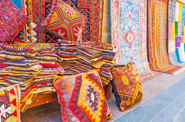 The Turkish kilim rugs