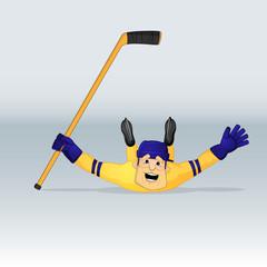 ice hockey team sweden player
