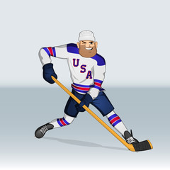 USA ice hockey team player