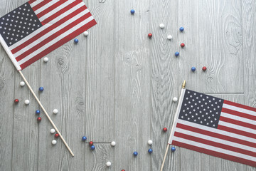 Patriotic 4th of July Holiday Background