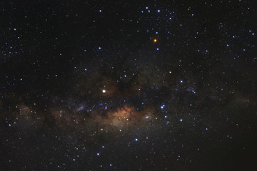Milky way galaxy with stars and space dust in the universe,High Resolution
