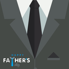 Happy father's day graphic design