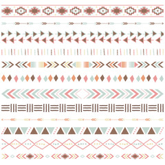 Tribal Ribbon Borders Collections