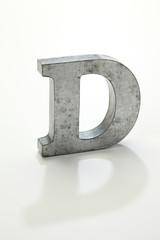 アルファベットのD