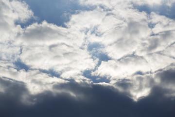 Himmel vor dem Regen