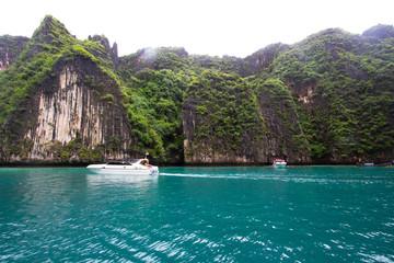 The blue lagoon in Thailand.