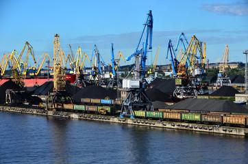 zone industrielle portuaire