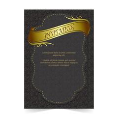 Invitation card, Wedding card with ribbon