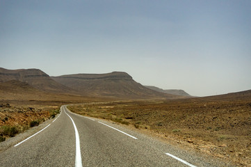 Roads of Morocco