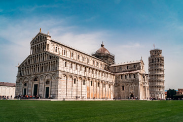 Square Piazza del Duomo, Pisa