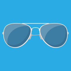 Aviator sunglasses. Protective eyewear.