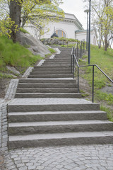 Steps on Skeppsholmen; Stockholm